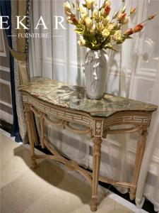Quality Italy Antique Classic Marble Top Console Table FH 129 For Sale ...