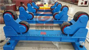 China 20T Pipe Welding Rotator with Manual Travel Bogie , One Motorized unit and Three Idle Units on sale