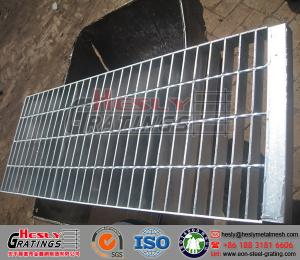 China Galvanized Metal Bar Grating on sale