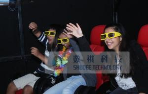 China Unexceptionable 9D XD Theatre System With Passive Yellow 3D Glasses on sale