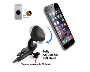 China Phone Universal Magnetic Car Holder CD Slot Mount Cradle Kit for Mobile Phone GPS on sale