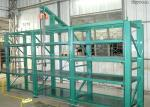 Durable Storage Injection Mold Racks Stainless Steel Q235B Material Powder Coated