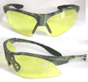 3d6914259f Yellow + Black Plastic High Velocity Impact Military Glasses ...