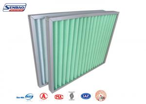 China Laboratory Clean Room Air Conditioning Air Filters with Synthetic Fiber Aluminum Frame on sale