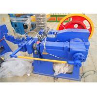 Professional Nail Production Machine , Iron Nails Manufacturing Machine Less Impact