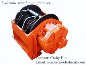 China 15 ton hydraulic winch manufacturer hoisting winch (GW6-150-198-30-ZP) on sale