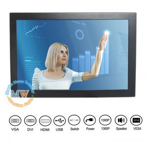 China Led POS Touch Screen Monitor with USB interface For Advertising ATM /  Kiosk on sale