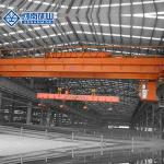 High Strength Electromagnetic Crane , Double Girder 50 Ton Overhead Crane