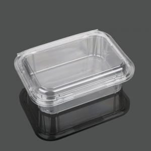China Takeaway Packaging 13.5cm Disposable Plastic Food Box on sale
