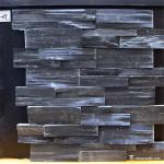 Slate Culture Stone Black Color Slate Stone Wall Cladding Panels