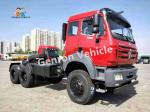 LHD 380Hp 6X4 Traction Mover Tractor Head Trucks