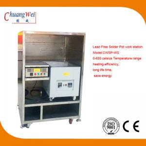 China Customized Aluminium Hot Bar Soldering Machine Lead Free Solder Pot on sale