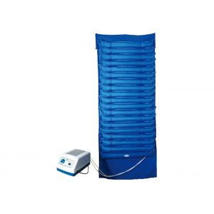 China Inflatable Blue Medical Air Cushion Bed With Electrical Pump / Rubber Nylon Cloth Alternating on sale