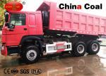 Equipo de la logística del camión de volquete del cargamento del uno mismo con el motor confiable