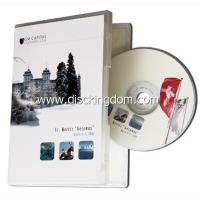 Multiple DVD cover printed 1cd case music CD wholesale