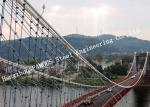 New Design Portable Steel Bailey Suspension Structural Bridge for Public Transportation