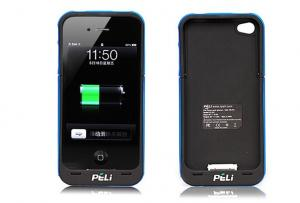 China 2200mAh Rechargeable External Battery , Mobile Power Pack For iPhone 4 / 4S on sale