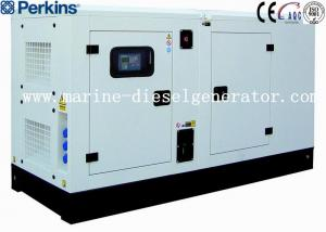 China 100KVA 80KW Silent Perkins Diesel Generator Low Fuel Consumption By Electric Governor on sale