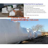 biodegradable shrink wrap 200 mic construction industrialJumbo construction industrial uv shrink wrap for yacht covering