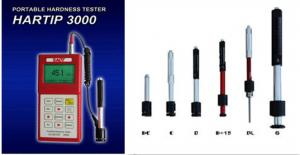 China Portable Leeb Hardness Tester Hartip 3000 HRC / HRB Hardness Scale ASTM A956 Standard with optional probes supplier