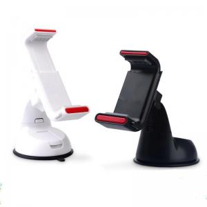 China White Samsung Car Phone Holder , Windshield Cellphone Mount ABS on sale