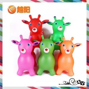 China 1300g Environmental PVC Inflatable Jumping Small Cartoon Deer for Toys (KH1-22) on sale