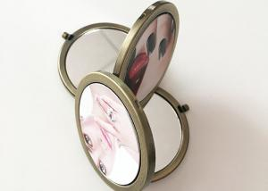 China Makeup Mirrors / Pocket Mirrors Digital 3D Printing Service For Leather Material supplier