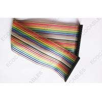 China Rainbow UL2651 Flat Ribbon Cables, Computer Internal Signal Flat Cable on sale