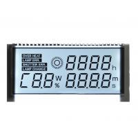 Custom Positive STN LCD Display Seven Segment For Car Dashboard 1 / 4 Duty Driving Method