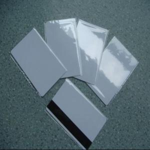 China Laminated PVC Card Sheet(White/Silver/Gold) on sale