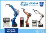 6 LINHA CENTRAL robôs de soldadura industriais do soldador do TIG/MIG, braço robótico da soldadura de arco