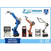 ISO Standard Industrial Welding Robots Arm , Car Parts Automatic Welding Robot