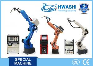 China ISO Standard Industrial Welding Robots Arm , Car Parts Automatic Welding Robot on sale