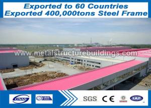 China steel work fabrication and Prefab Steel Frame light-gauge to Costa Rica market on sale