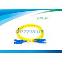 Fiber Optic Patch Cable Passive Components E2000 UPC Fiber Optic Patch Cord