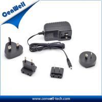 Cenwell 12V2A interchangeable US EU UK AU plug power adapter CE FCC SAA approval