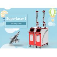 Three Wavelength Q Switch Nd Yag Laser Machine , Pigmentation Removal Machine