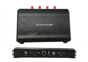 China RS232 Usb Long Distance 4 Port RFID Reader , Long Range Uhf Rfid Reader on sale