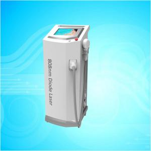 China Permanent 808nm Diode Laser Hair Removal Machine For Unwanted Hair Removing on sale