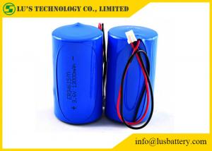 China 3.6V 13.0Ah Lithium Thionyl Chloride Battery Lithium Battery ER34615M Size D on sale