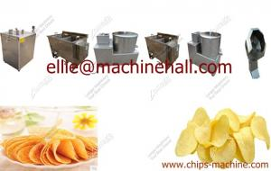 China Small Scale Potato Chips Production Line|Potato Chips Making Machine For Sale on sale