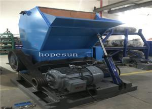 China Soundproof ABS PA Trash Crusher Machine 9CrSi Blades Energy Saving Durable on sale