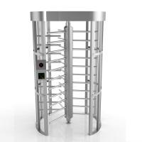 304SS Mantrap Full Height Access Control Turnstiles Door Shock-Proof Single Channel
