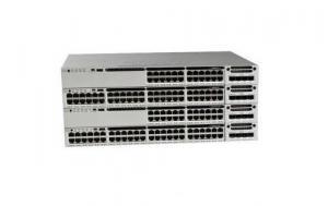 China 12 Port 10G Fiber Cisco Catalyst Switch WS-C3850-12XS-E on sale