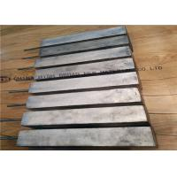 Magnesium sacrificial anode used in  protecting one steel hull