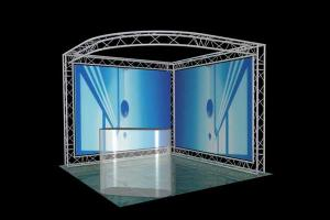 China S011TDT-10'x 10' Triangle Display Truss And Truss Stand For Exhibit And Trade Show on sale