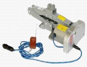 China 12V Portable Mini Electric Scissor Lifting Jack,Hoist on sale