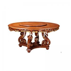 35badb769421 ... Quality Round Dining Table Prices, wood Top Dining Table LS-A302L-3 for  ...