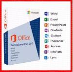 Office 2013 Professional Key Card 32 Bit / 64 Bit DVD retailbox office 2013 pro plus key