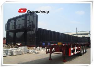 China 50 ton loading capacity sidewall cargo trailer enclosed truck semi trailer on sale